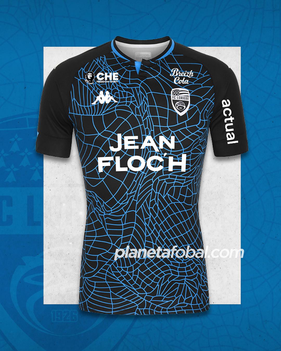 Camisetas Kappa del FC Lorient 2020/21 | Imagen Web Oficial