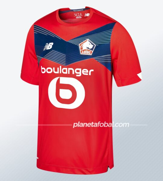 Camiseta titular del LOSC Lille 2020/21 | Imagen New Balance