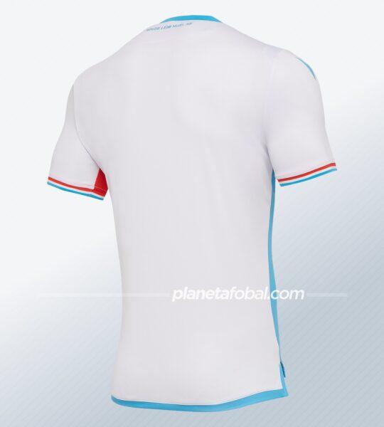Camisetas de Luxemburgo 2020/21 | Imagen Macron