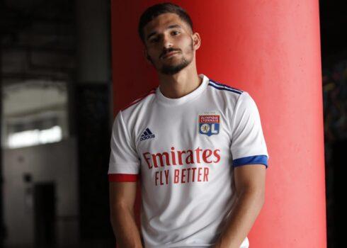 Maillot domicile adidas Lyon 2020/2021   Image du site officiel