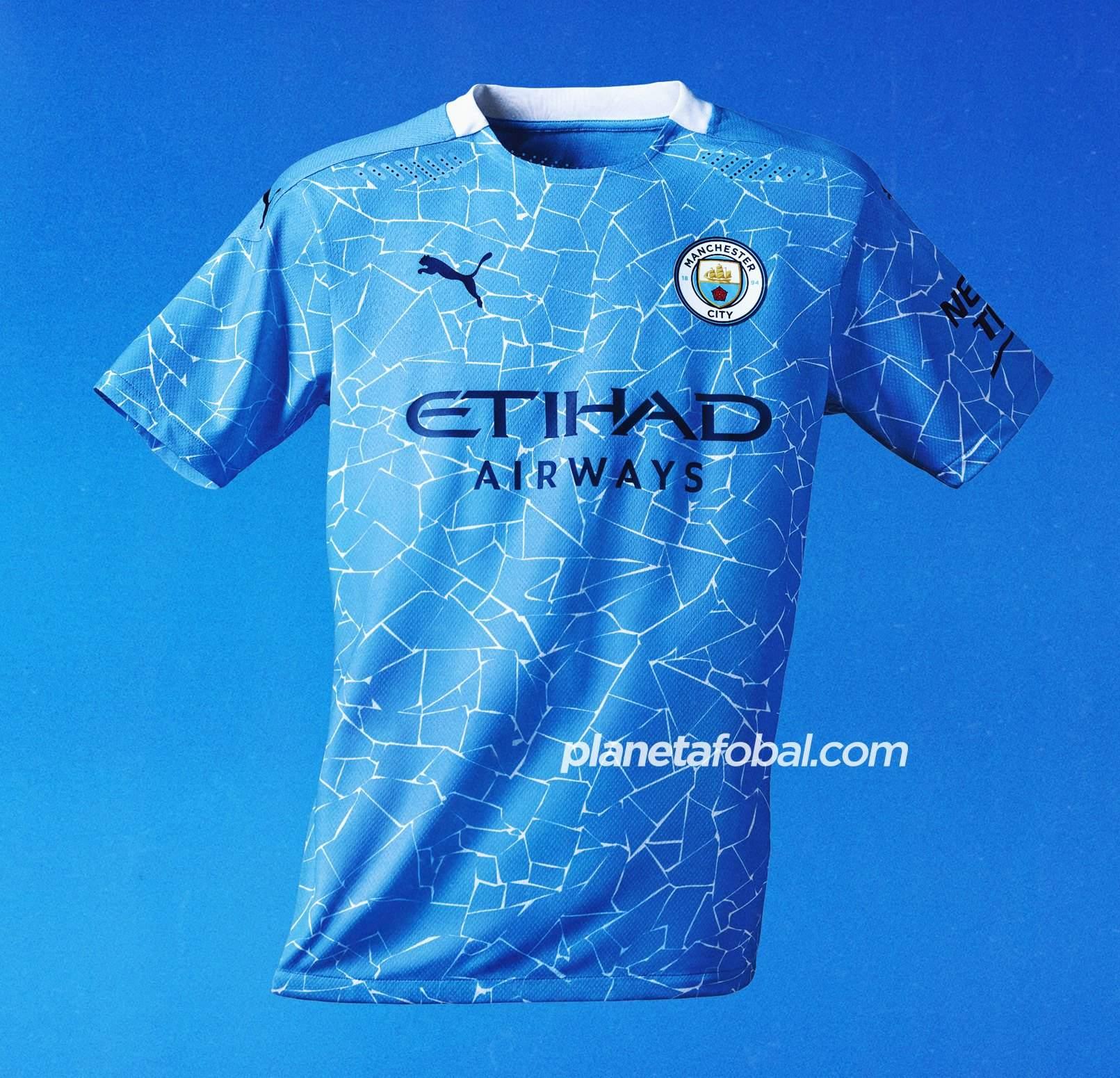 Camiseta titular del Manchester City 2020/2021 | Imagen Puma