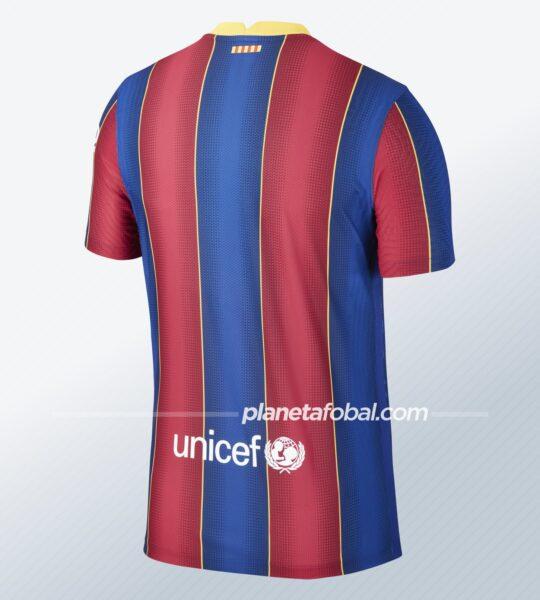 Camiseta titular del Barcelona 2020/2021 | Imagen Nike