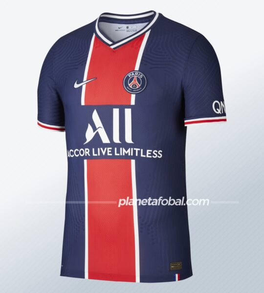 Camiseta local del PSG 2020/2021 | Imagen Nike