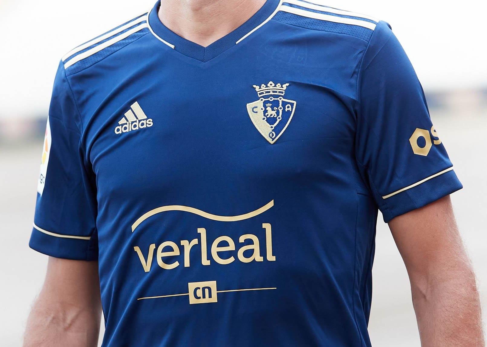 Camisetas adidas del Osasuna 2020/21 | Imagen Twitter Oficial