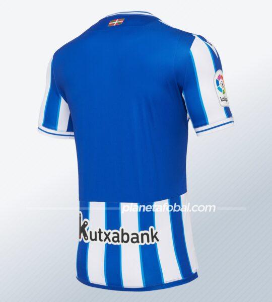 Camiseta titular de la Real Sociedad 2020/2021 | Imagen Macron