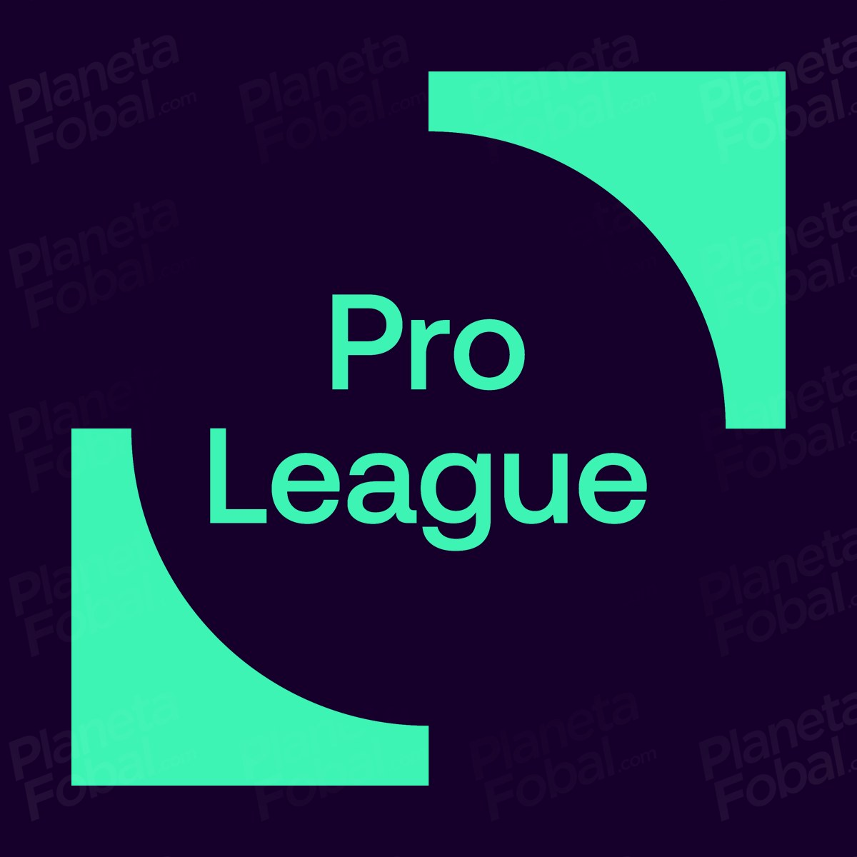 Logo secundario de la Pro League de Bélgica | Imagen Web Oficial