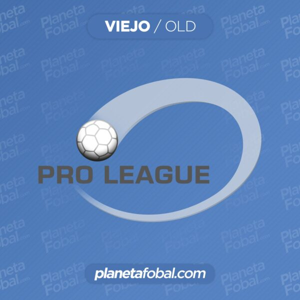 Viejo logo de la Pro League de Bélgica | Imagen Web Oficial