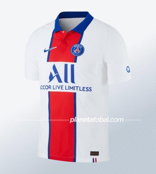 Camiseta suplente 2020/21 del PSG | Imagen Nike