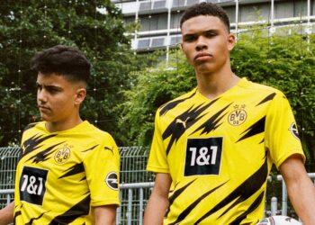Camiseta titular del Borussia Dortmund 2020/2021 | Imagen Puma
