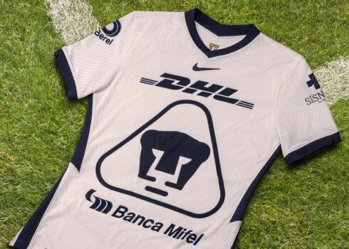 Camiseta local de los Pumas de la UNAM 2020/21 | Imagen Nike