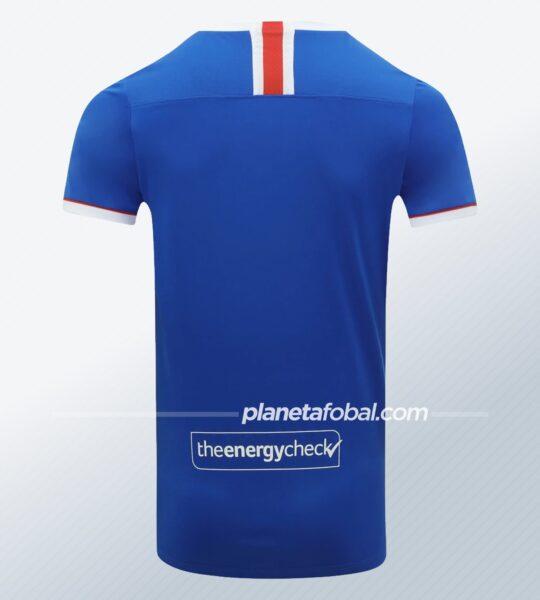 Camiseta titular del Rangers FC 2020/21 | Imagen Castore