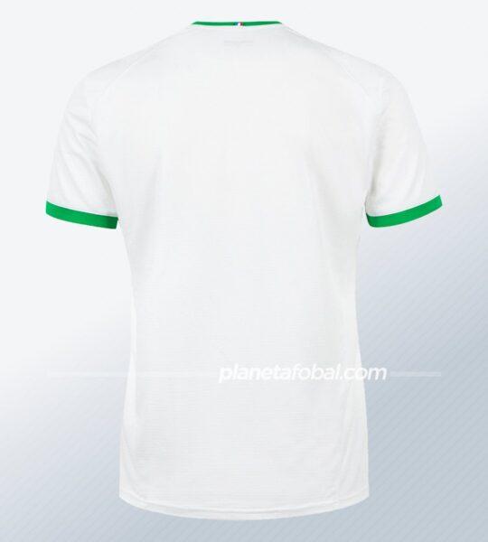 Camiseta suplente le coq sportif del Saint-Étienne 2020/21 | Imagen Web Oficial