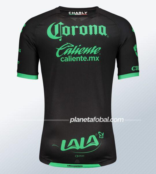 Camiseta visitante Charly del Santos Laguna 2020/21   Imagen Web Oficial