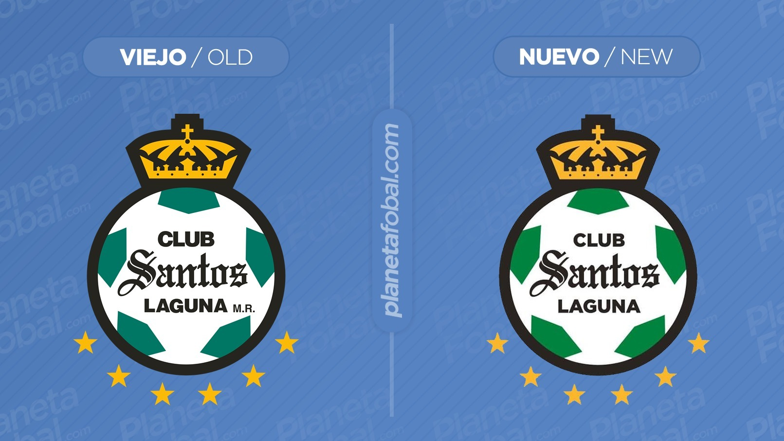 Santos Laguna actualiza su escudo oficial