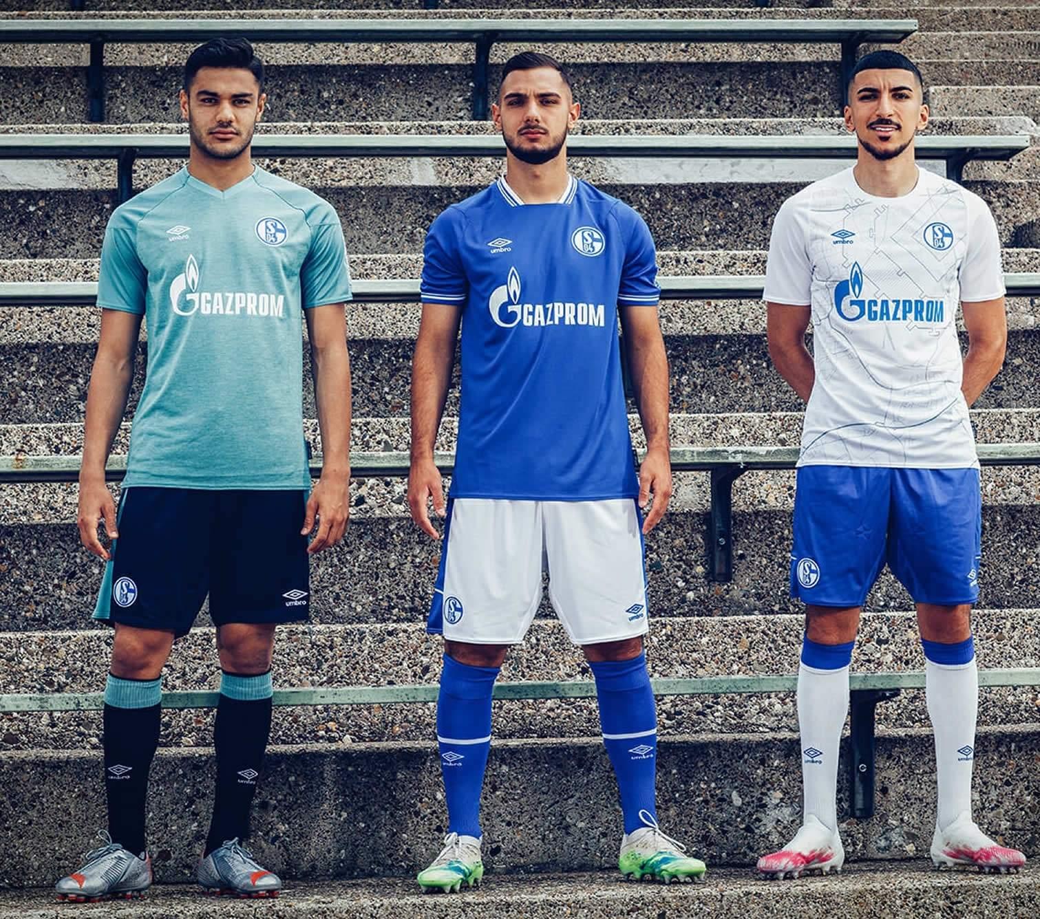 Camisetas Umbro del Schalke 04 2020/21 | Imagen Web Oficial