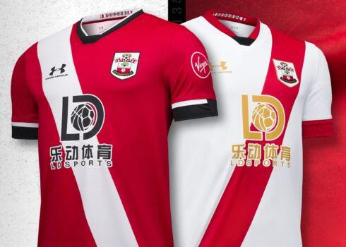Camisetas Under Armour del Southampton FC 2020/21 | Imagen Web Oficial