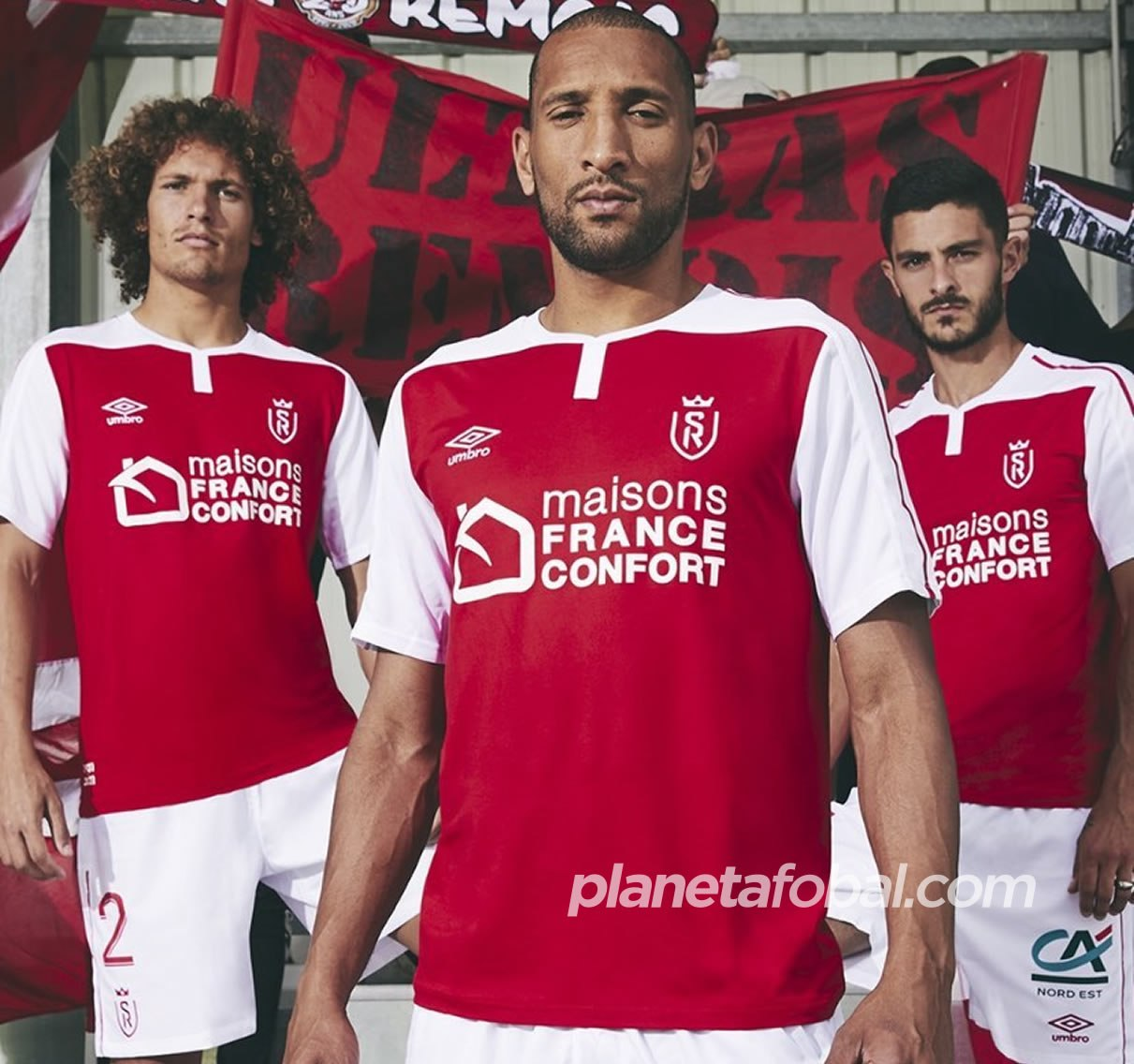 Camiseta Umbro del Stade de Reims 2020/21 | Imagen Web Oficial