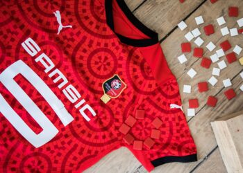 Camiseta titular Puma del Stade Rennais 2020/21 | Imagen Web Oficial