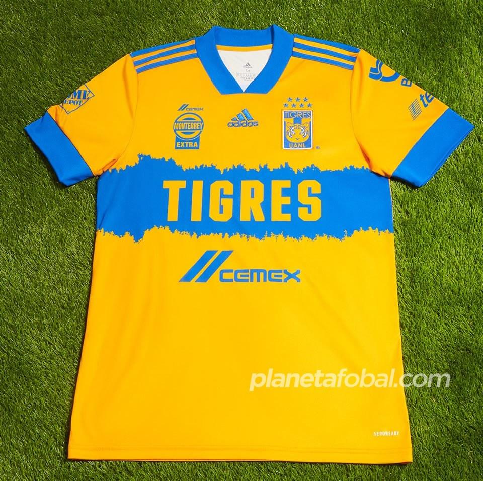 Camisetas Adidas de los Tigres UANL 2020/21 | Imagen Twitter Oficial