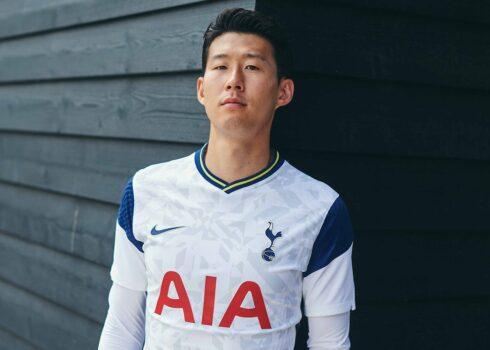 Camiseta titular del Tottenham 2020/2021 | Imagen Web Oficial