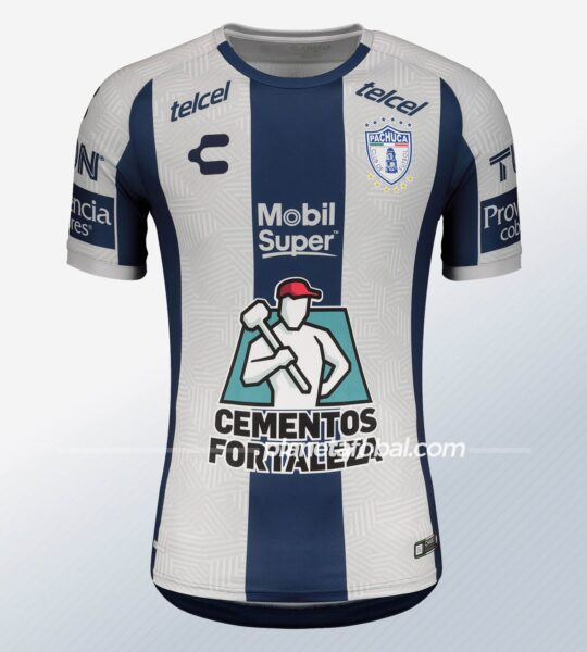 Camiseta local del Pachuca 2020/21 | Imagen Charly