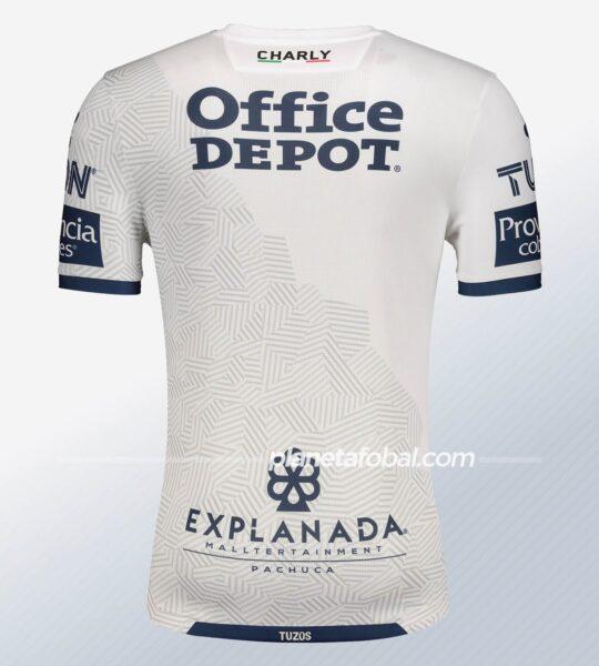 Camiseta visitante del Pachuca 2020/21 | Imagen Charly