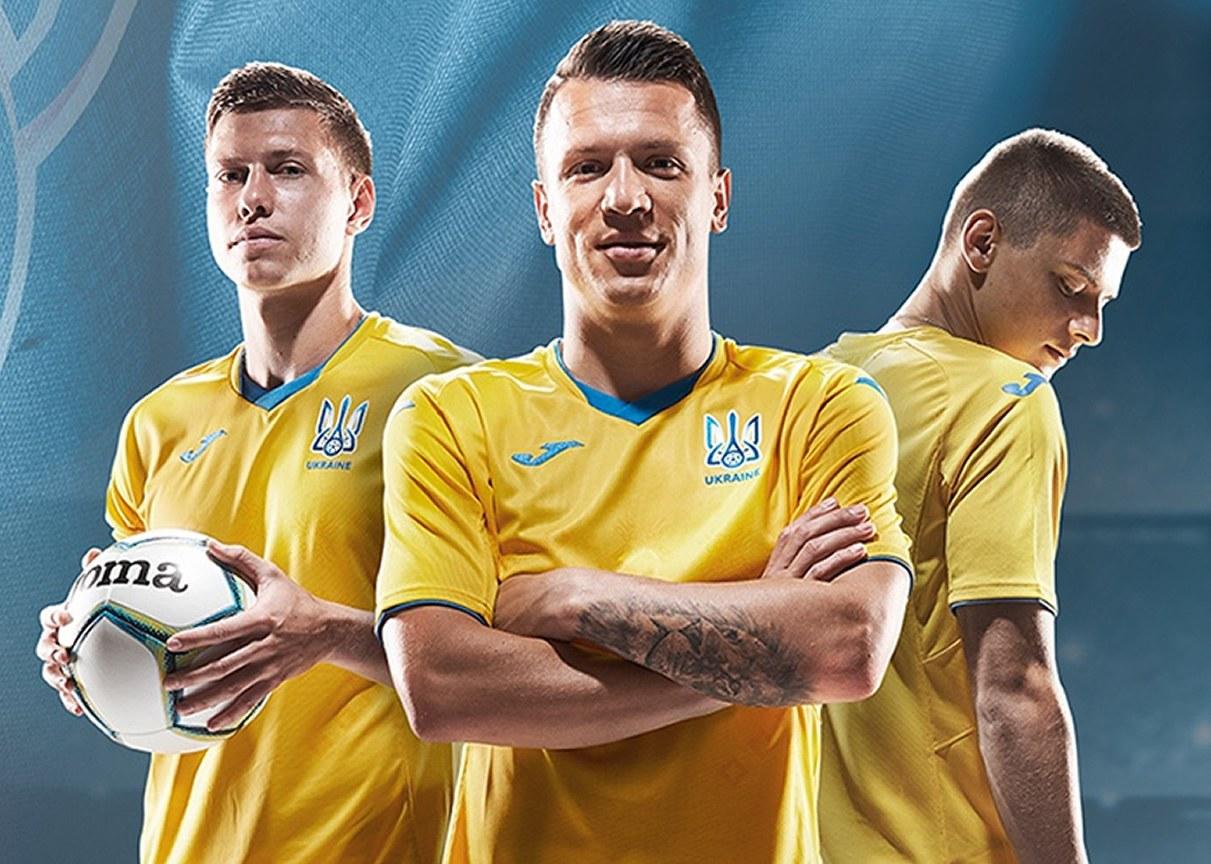 Camisetas Joma de Ucrania 2020/21