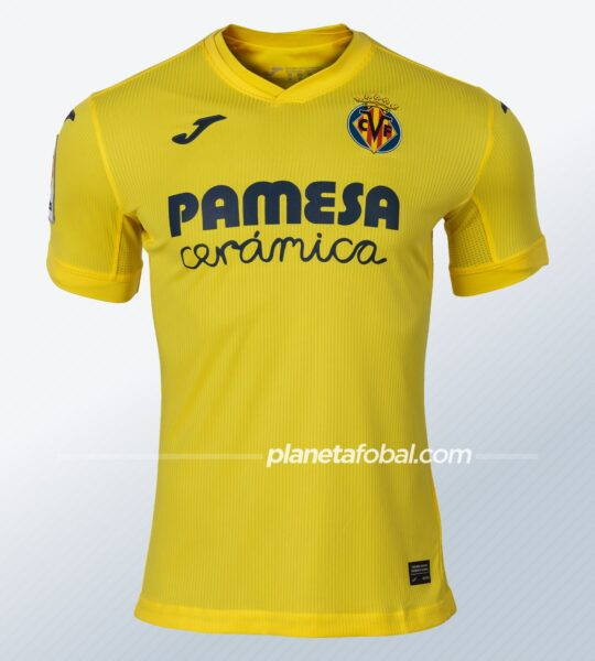 Camiseta local del Villarreal CF 2020/21 | Imagen Joma