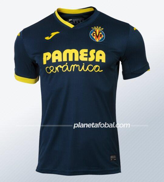Camiseta visitante del Villarreal CF 2020/21 | Imagen Joma