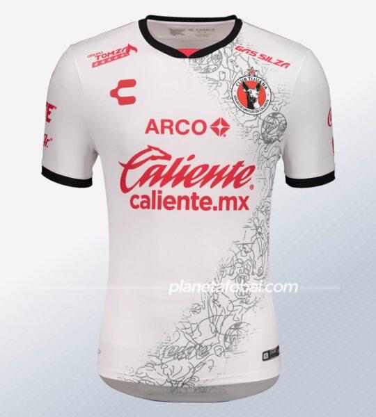 Camisetas de los Xolos de Tijuana 2020/21 | Imagen Charly