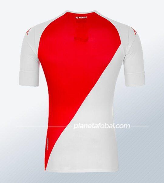 Camiseta Kappa del AS Monaco 2020/2021 | Imagen Web Oficial
