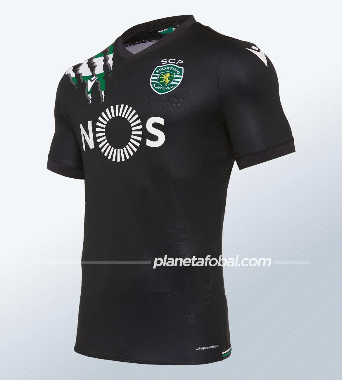 Camiseta suplente Macron del Sporting CP 2020/21 | Imagen Web Oficial