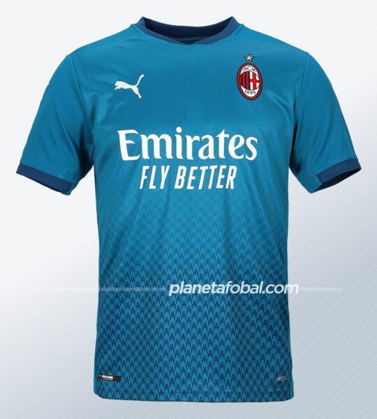 Tercera camiseta Puma del AC Milan 2020/2021 | Imagen Web Oficial
