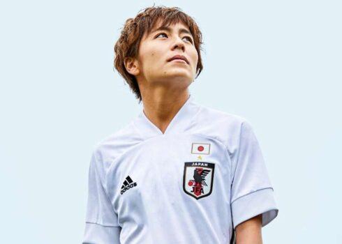 Camiseta suplente de Japón 2020/2021   Imagen adidas