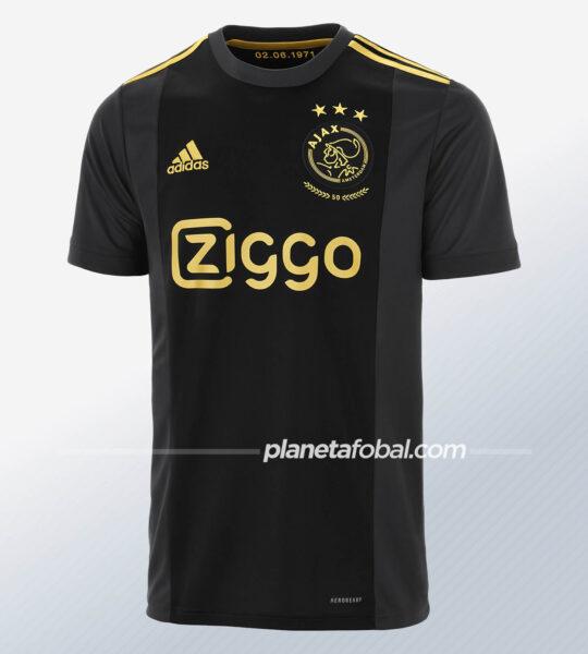 Tercera camiseta del Ajax 2020/2021 | Imagen adidas