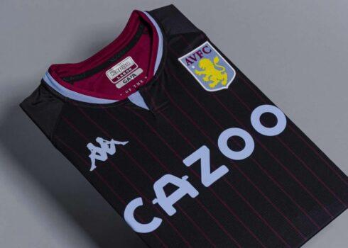 Camiseta suplente Kappa del Aston Villa 2020/21 | Imagen Web Oficial