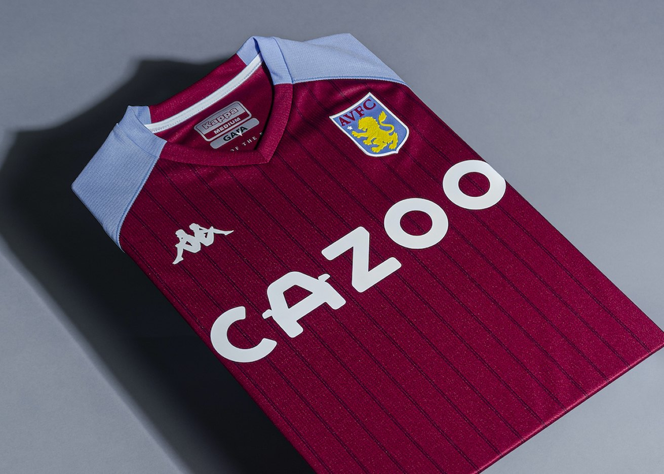 Camiseta Kappa del Aston Villa 2020/21   Imagen Web Oficial