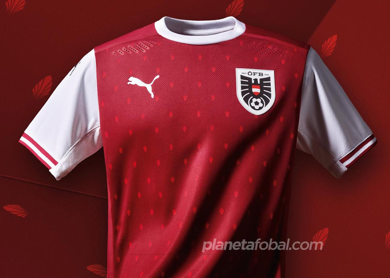 Camiseta titular de Austria 2020/2021 | Imagen PUMA