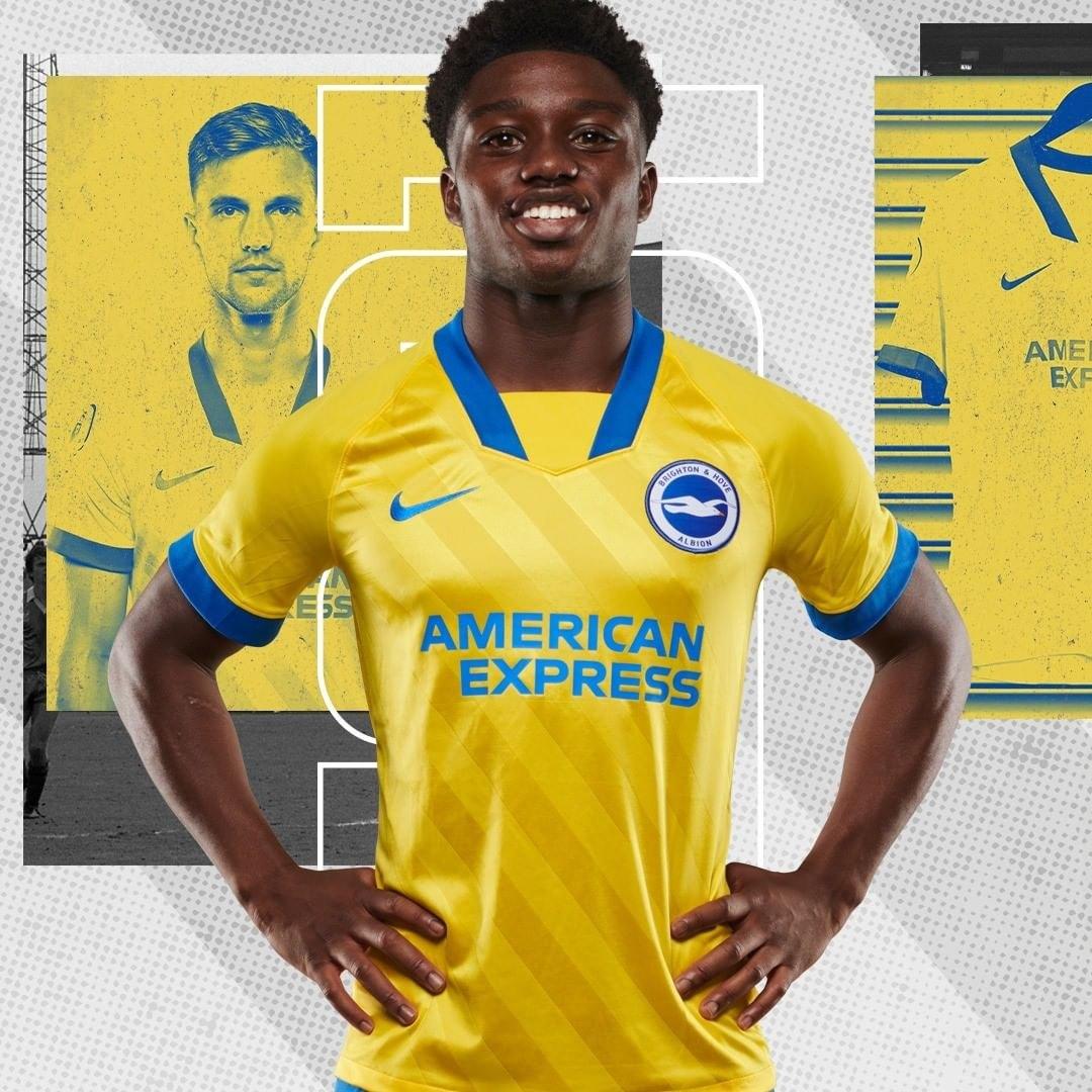 Camiseta suplente Nike del Brighton & Hove Albion 2020/21 | Imagen Web Oficial
