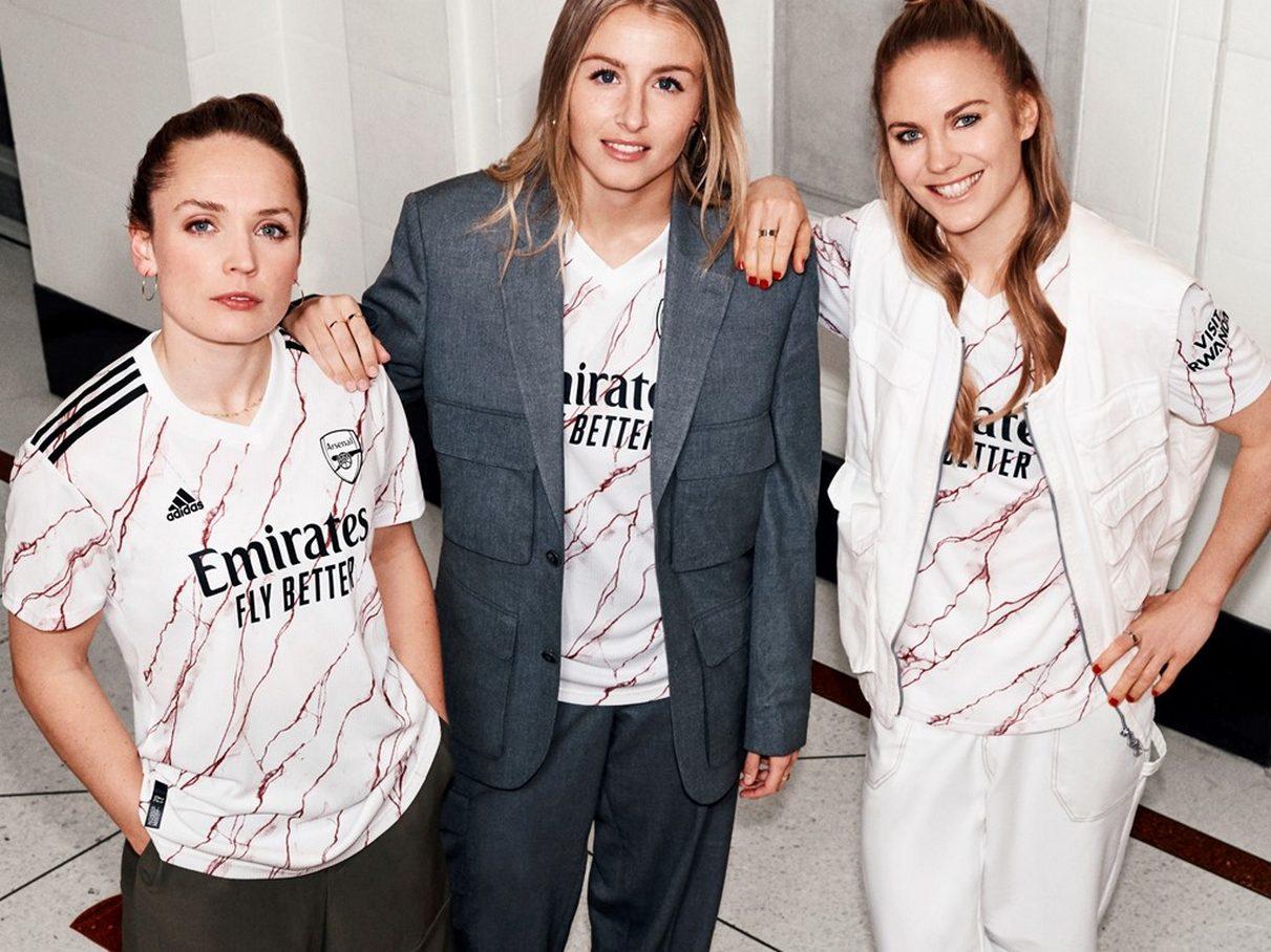 Camiseta suplente del Arsenal 2020/2021 | Imagen adidas