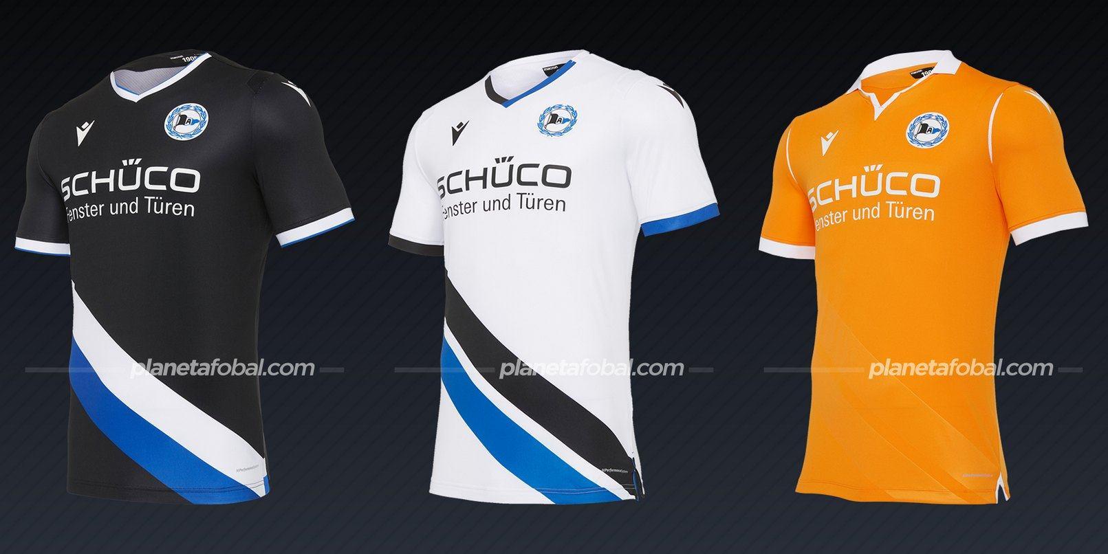 Arminia Bielefeld (Macron) | Camisetas de la Bundesliga 2020/2021