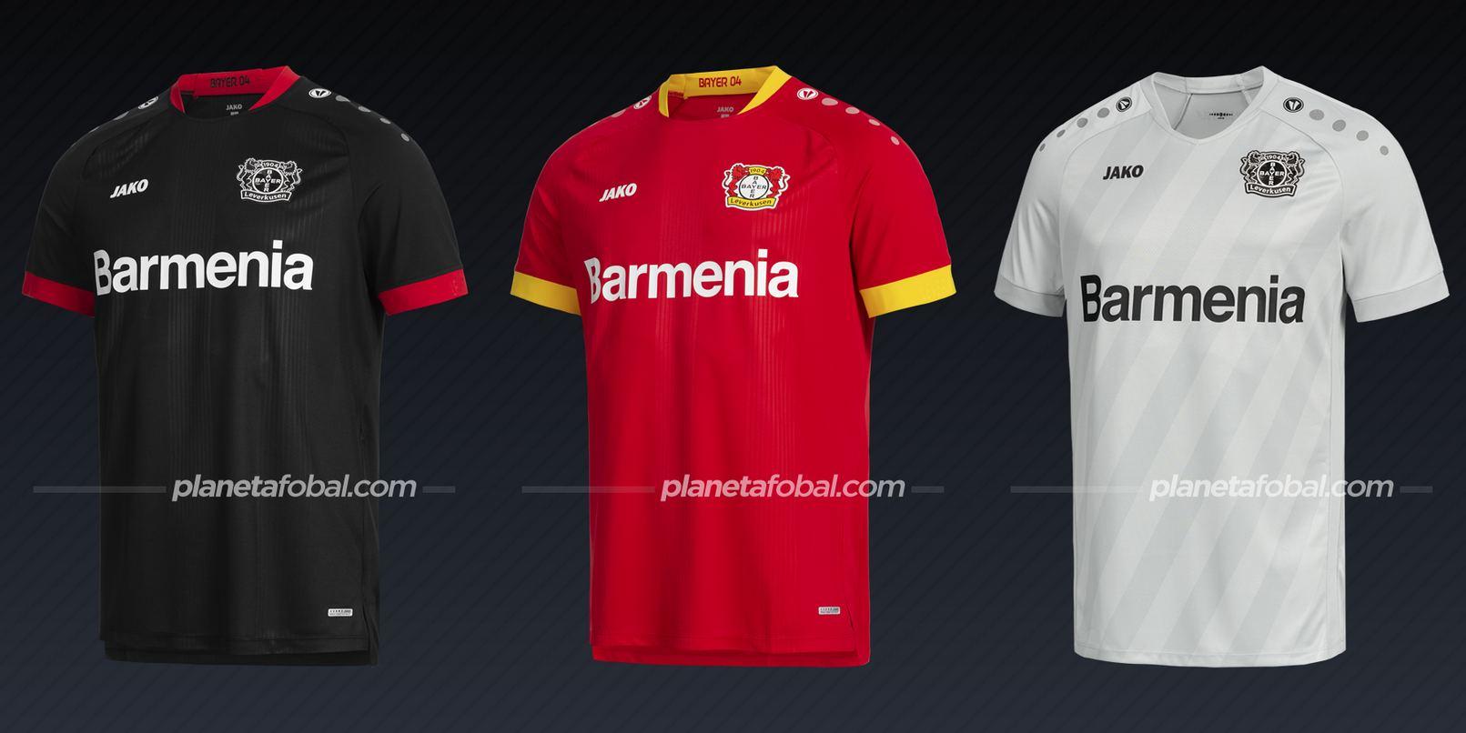 Bayer 04 (Jako) | Camisetas de la Bundesliga 2020/2021