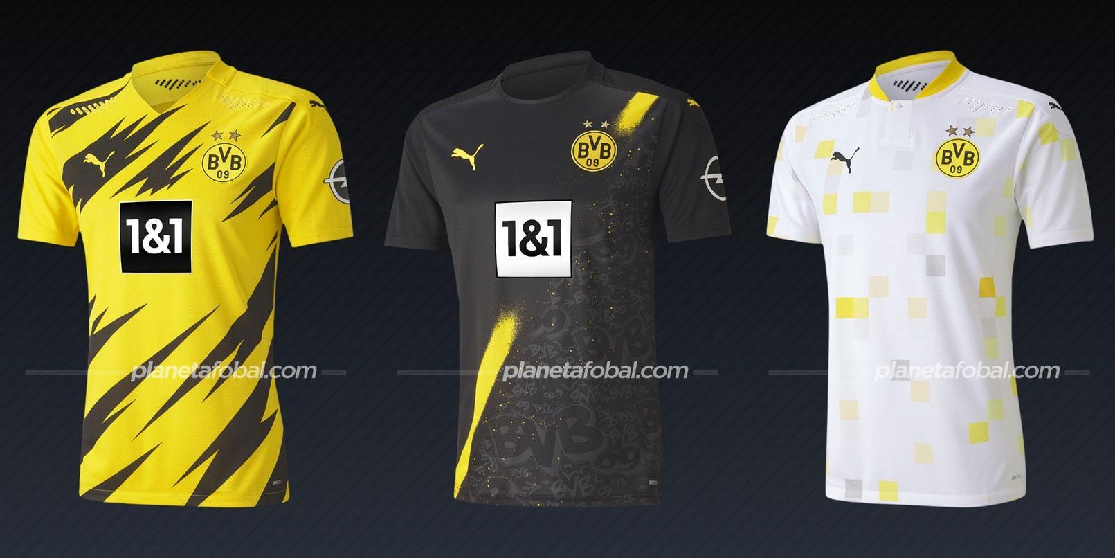 Borussia Dortmund (PUMA) | Camisetas de la Bundesliga 2020/2021