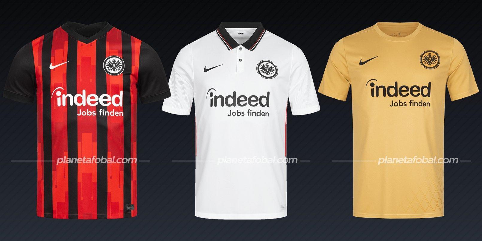 Eintracht Frankfurt (Nike) | Camisetas de la Bundesliga 2020/2021