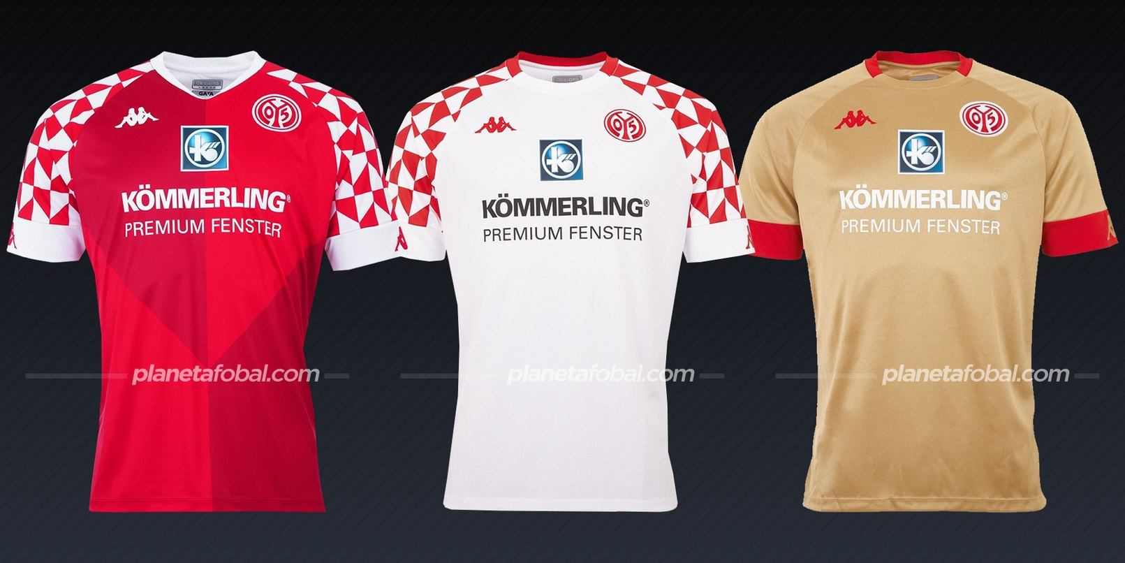 Mainz 05 (Kappa) | Camisetas de la Bundesliga 2020/2021