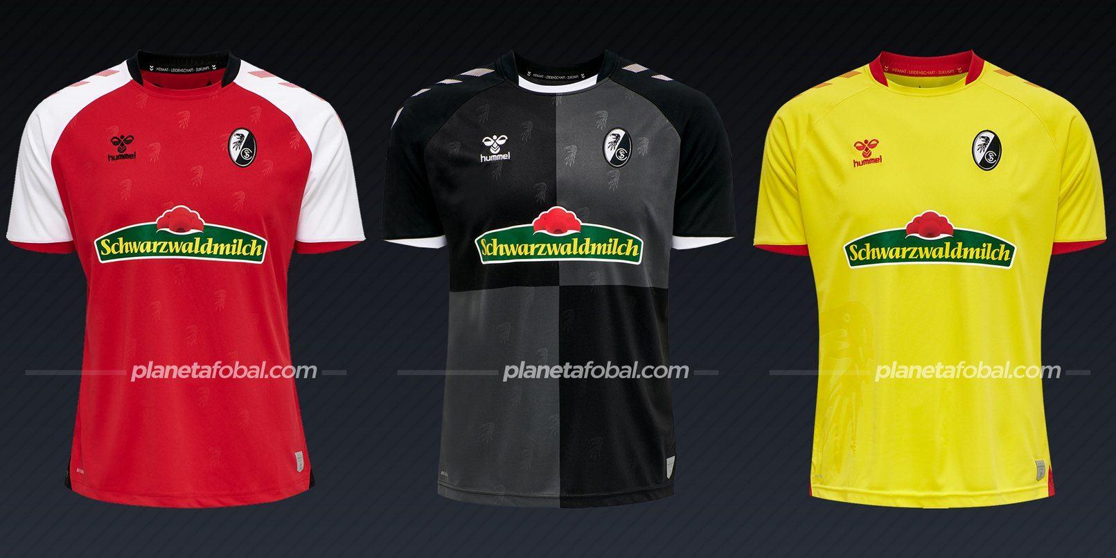 SC Freiburg (Hummel) | Camisetas de la Bundesliga 2020/2021