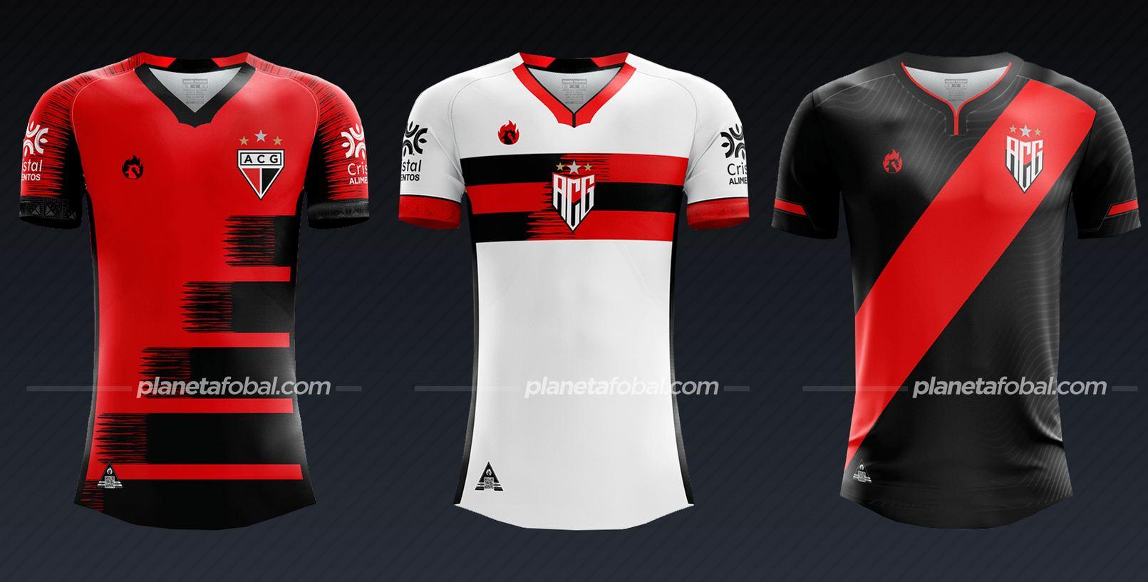 Atlético Goianiense (Dragão Premium) | Camisetas del Brasileirão 2020
