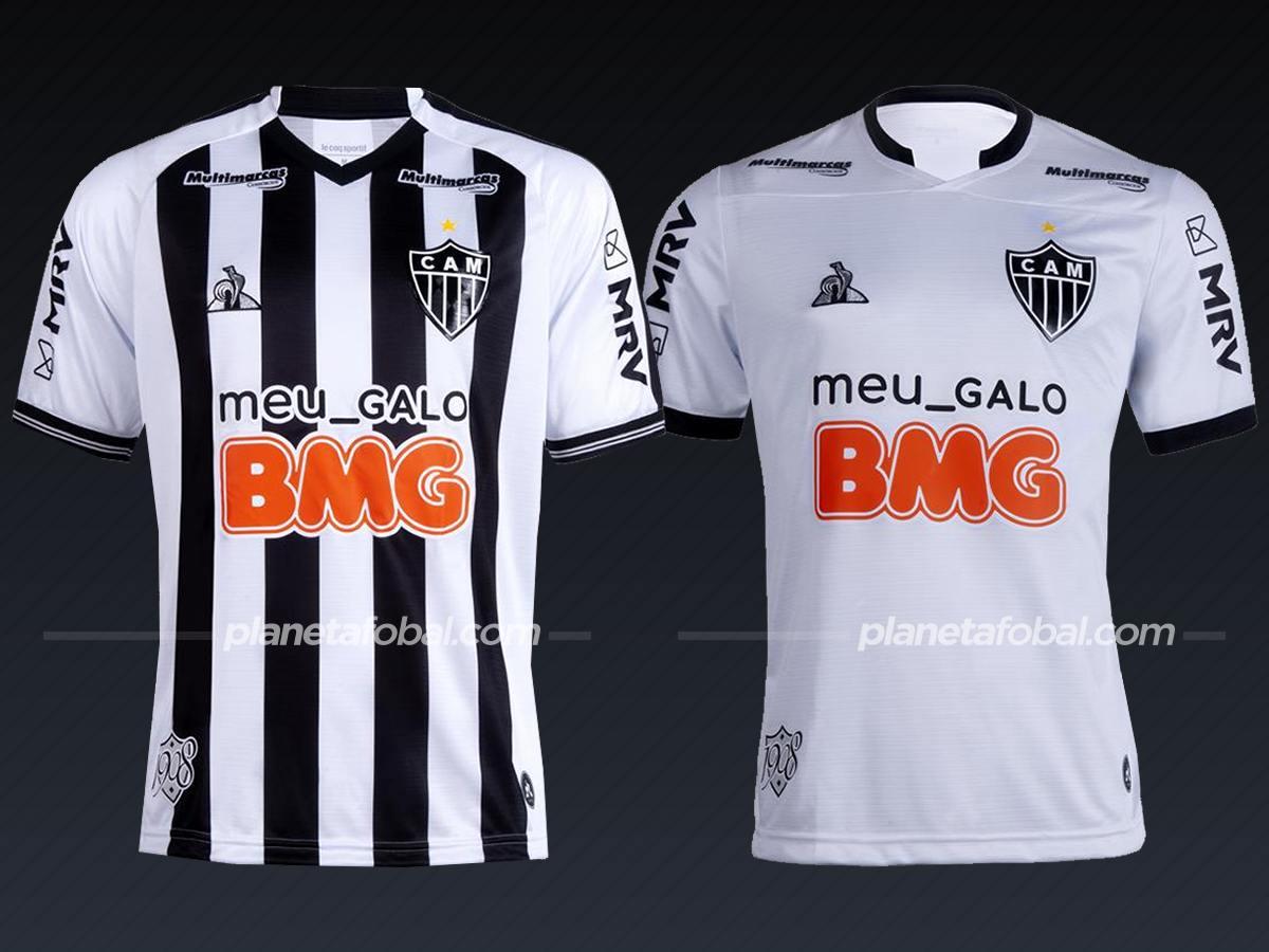 Atlético Mineiro (Le Coq Sportif) | Camisetas del Brasileirão 2020