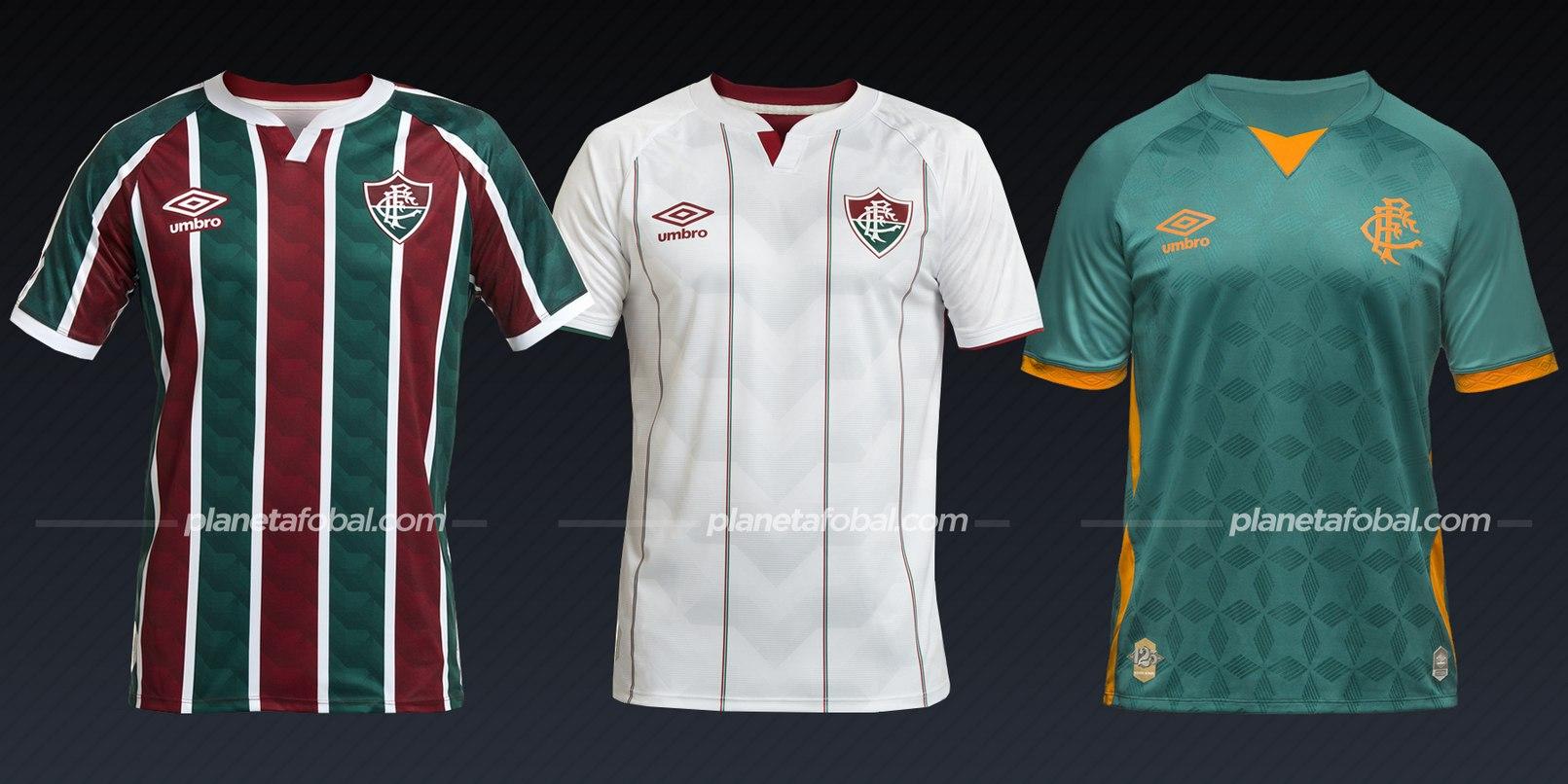 Fluminense (Umbro) | Camisetas del Brasileirão 2020