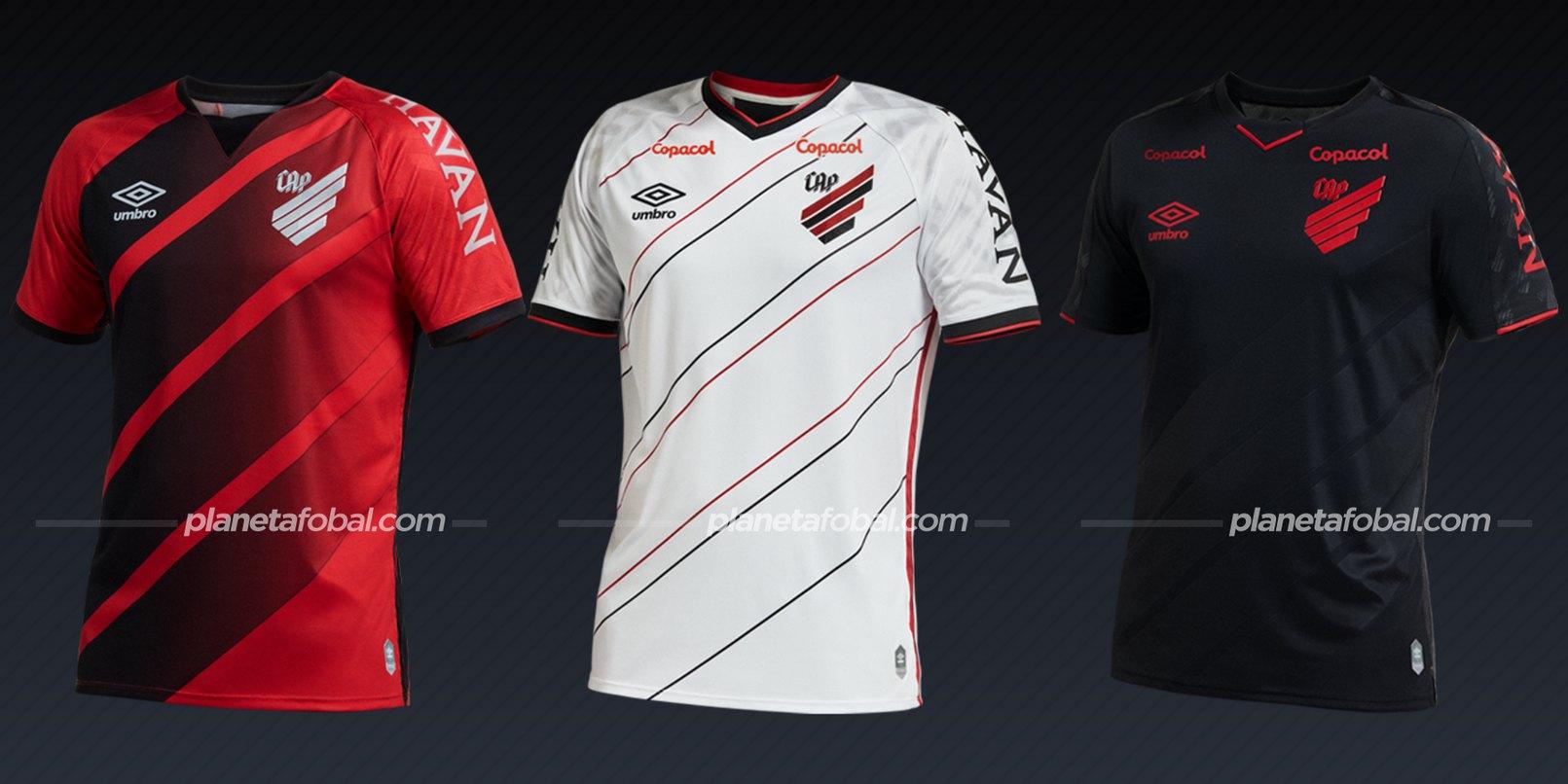 Athletico Paranaense (Umbro) | Camisetas del Brasileirão 2020